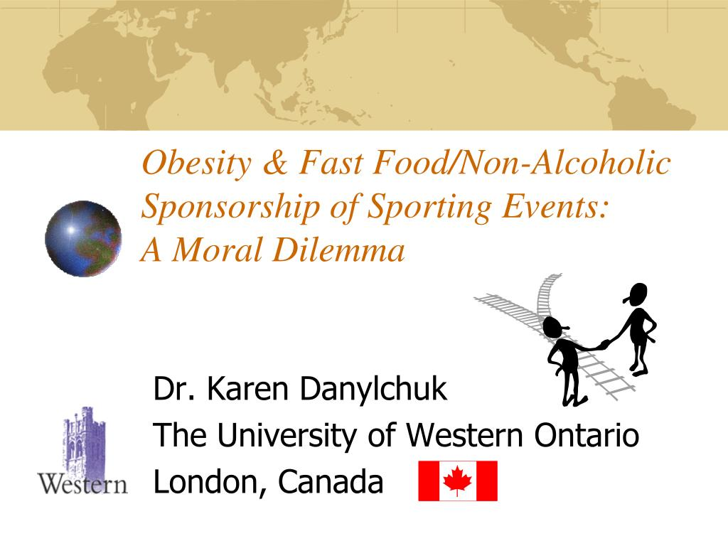Obesity & Fast Food/Non-Alcoholic Sponsorship of Sporting Events: