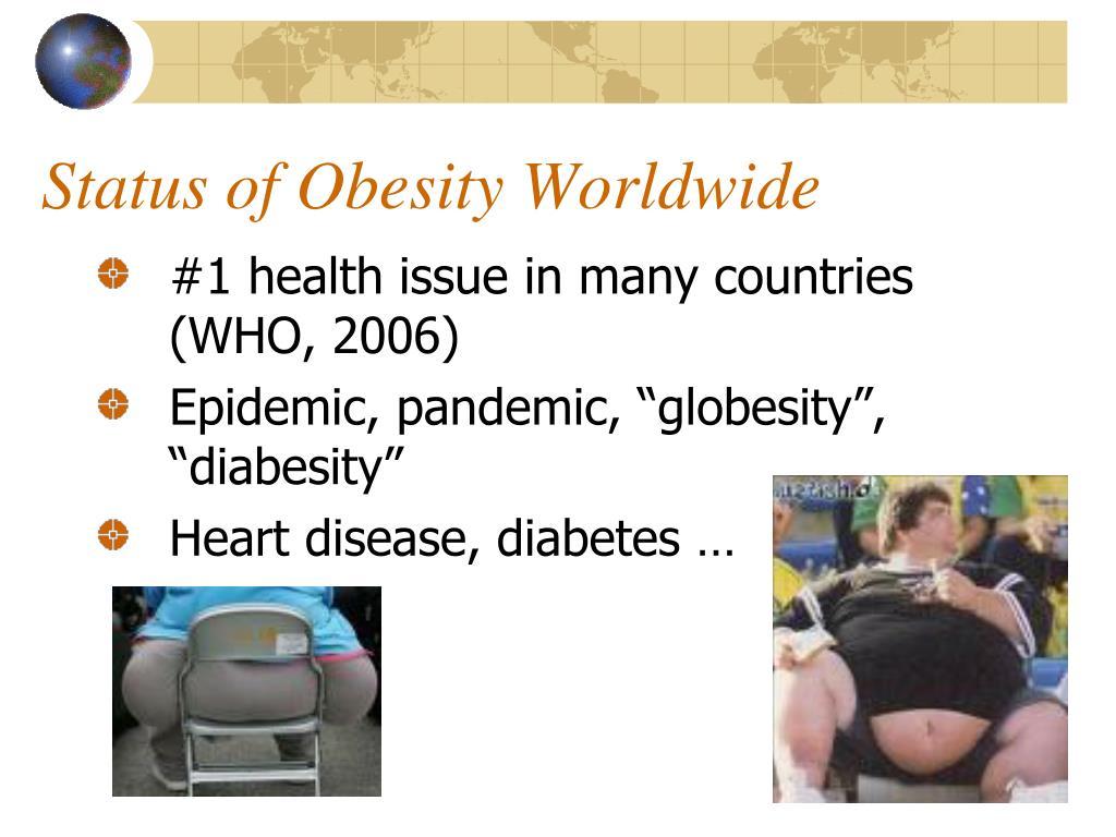 Status of Obesity Worldwide