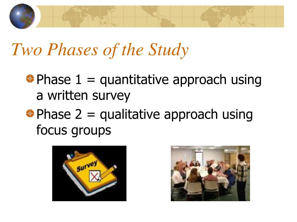Two Phases of the Study