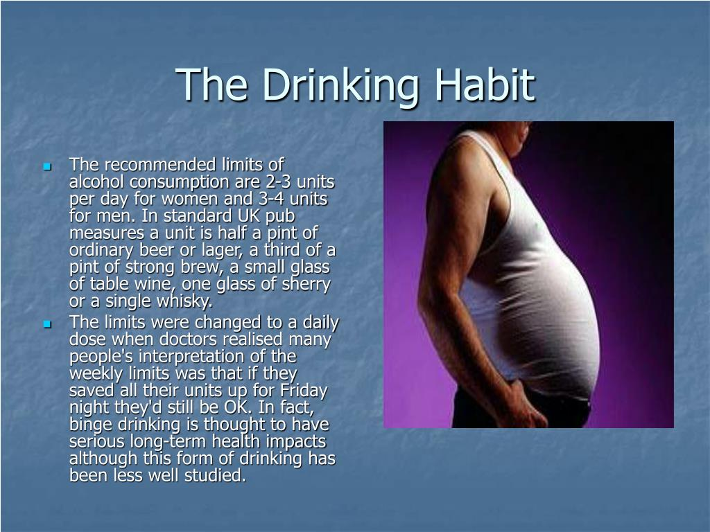 The Drinking Habit