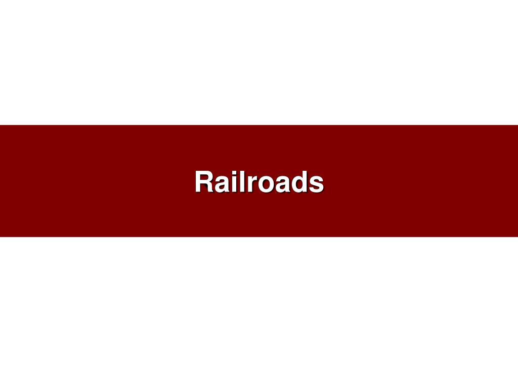 railroads l.