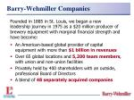barry wehmiller companies