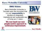 barry wehmiller university