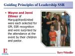 guiding principles of leadership ssr29