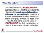 what we believe11