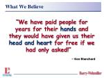what we believe17