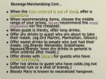 beverage merchandizing cont