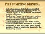 tips in mixing drinks gr1