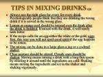 tips in mixing drinks gr2