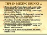 tips in mixing drinks gr3