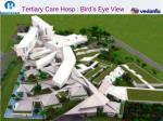 tertiary care hosp bird s eye view