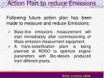 action plan to reduce emissions