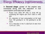energy efficiency improvements17