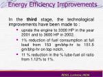 energy efficiency improvements19