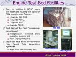 engine test bed facilities