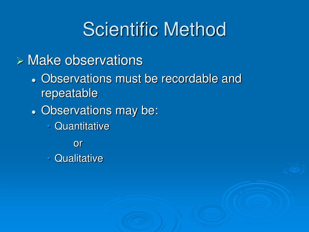Scientific