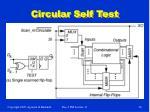 circular self test