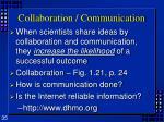 collaboration communication