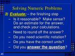 solving numeric problems45