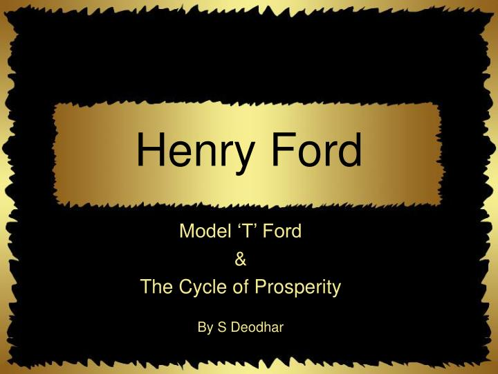 henry ford n.