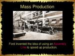mass production1