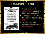 the model t ford1