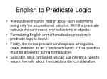 english to predicate logic13