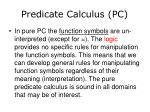 predicate calculus pc5