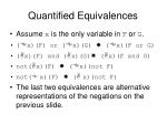 quantified equivalences