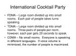 international cocktail party