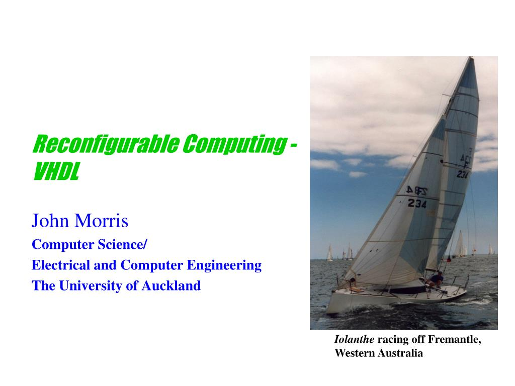 Reconfigurable Computing -