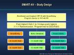 smart av study design