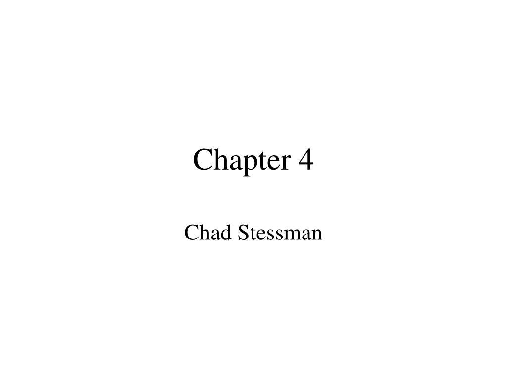 chapter 4 l.