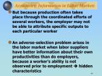 asymmetric information in labor markets1