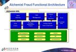 alchemist fraud functional architecture