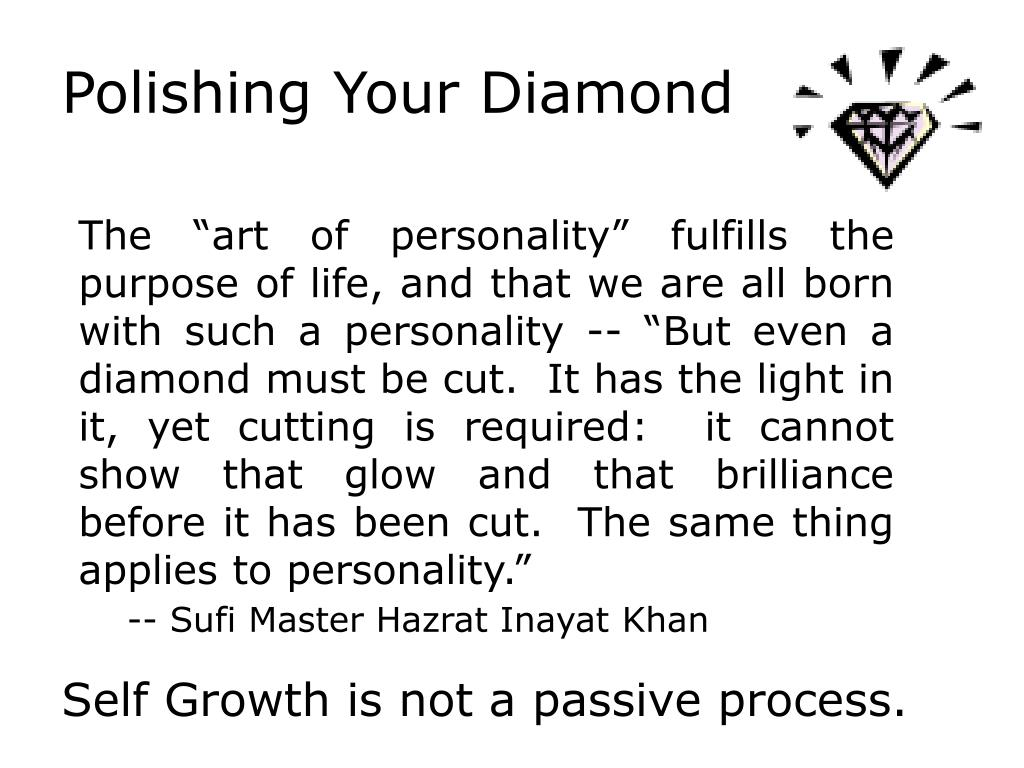 Polishing Your Diamond