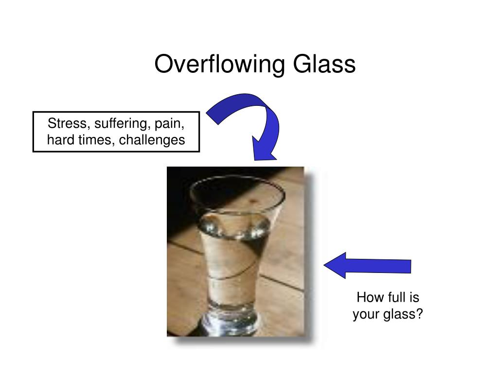 Overflowing Glass