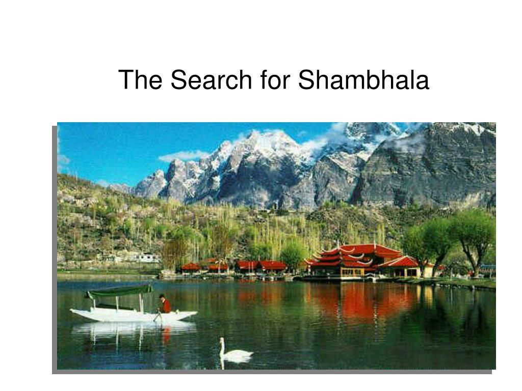 The Search for Shambhala