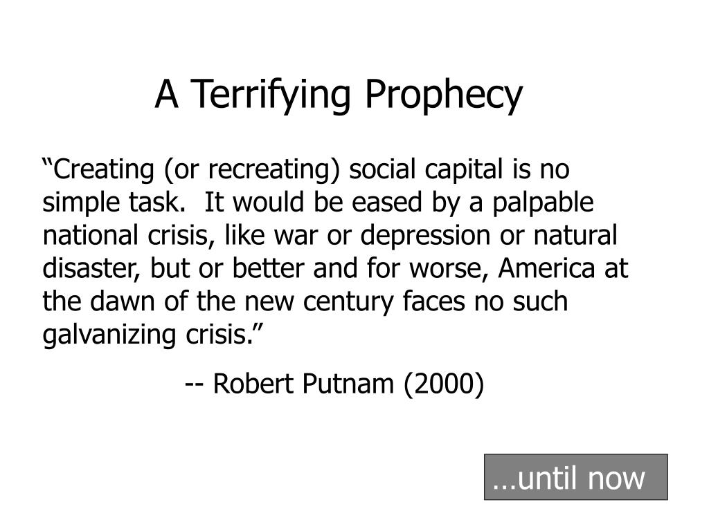 A Terrifying Prophecy