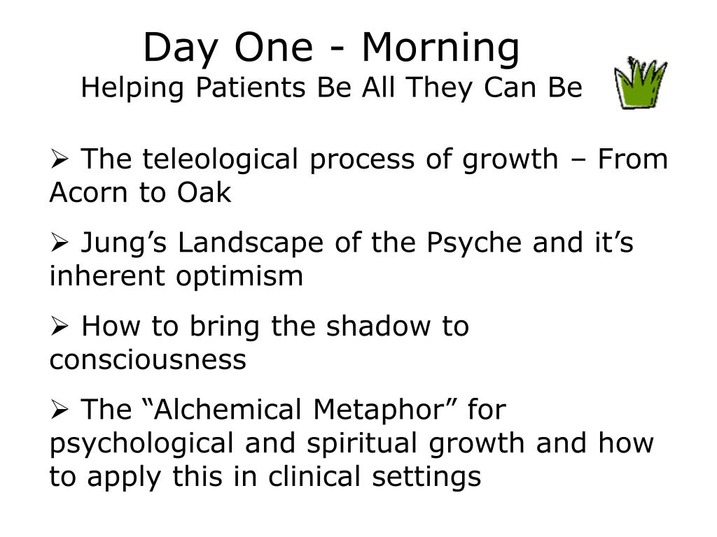 Day One - Morning