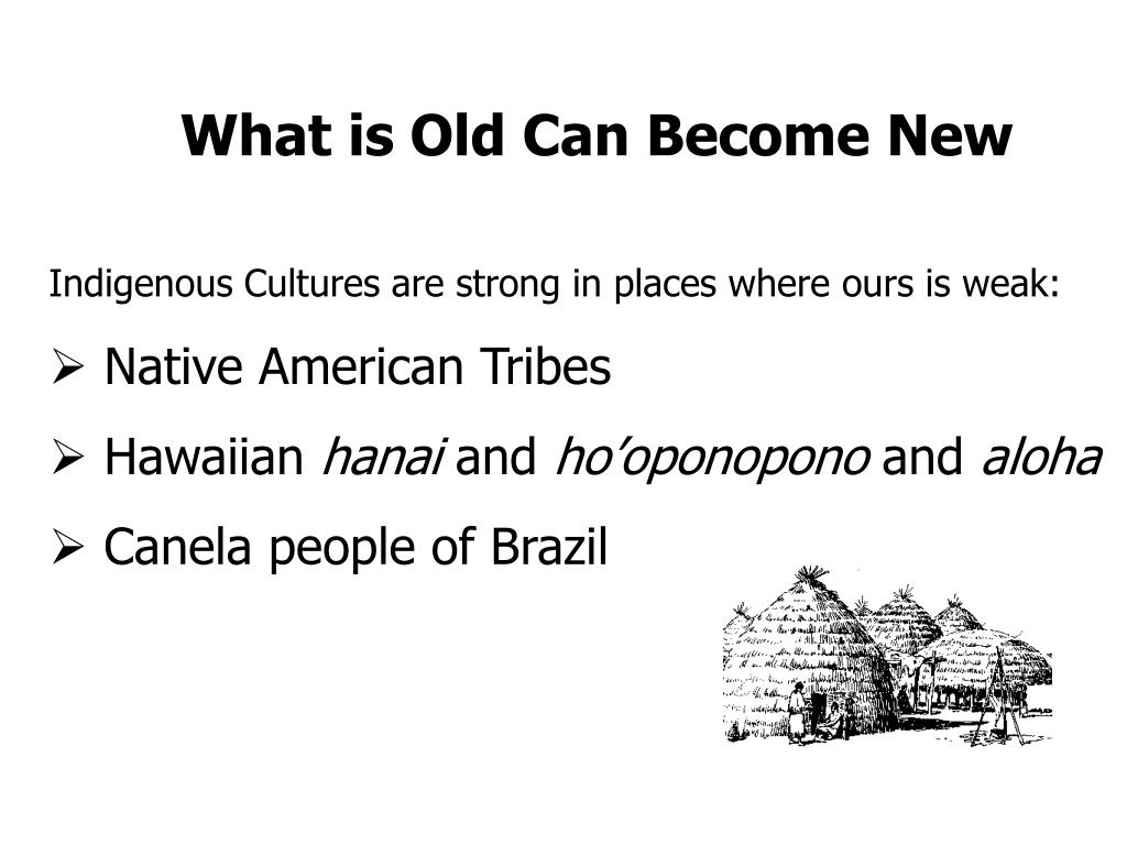 What is Old Can Become New