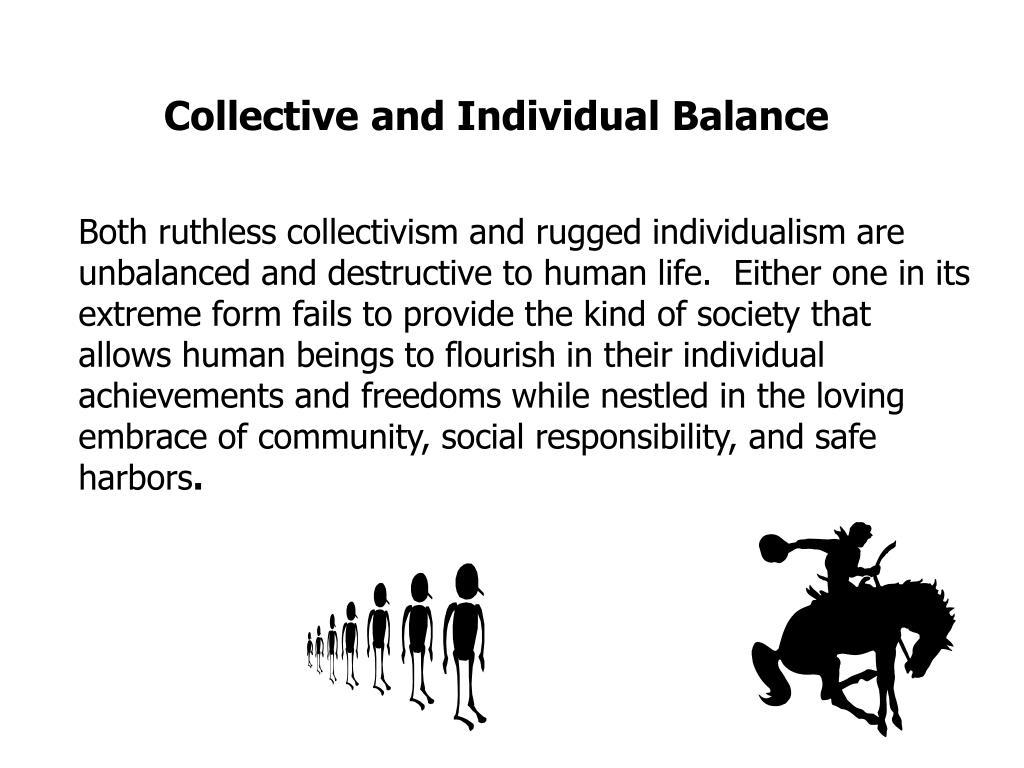 Collective and Individual Balance