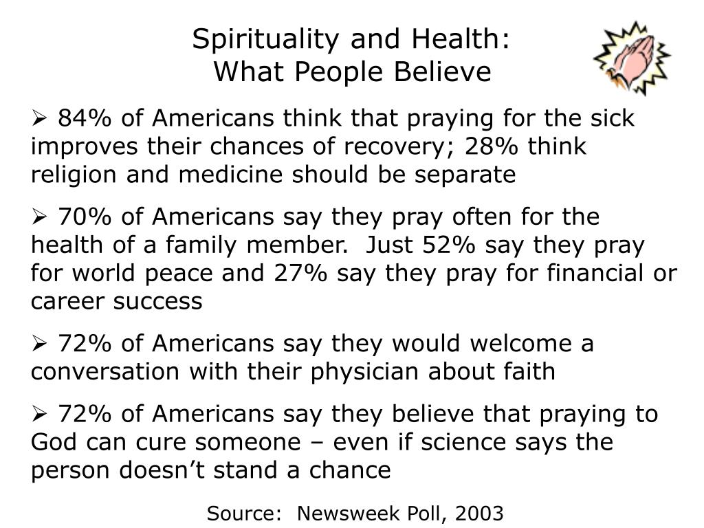 Spirituality and Health: