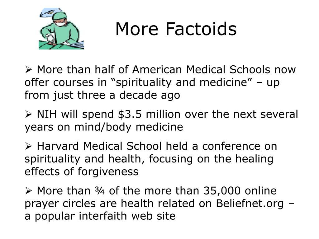More Factoids