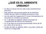 qu es el ambiente urbano16