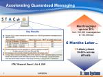 accelerating guaranteed messaging