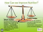 how can we improve nutrition23