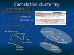 correlation clustering