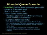 binomial queue example12