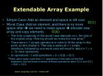extendable array example8